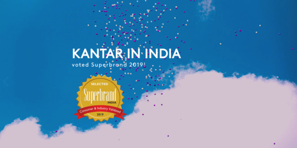 Kantar Achieves Superbrands Status in India